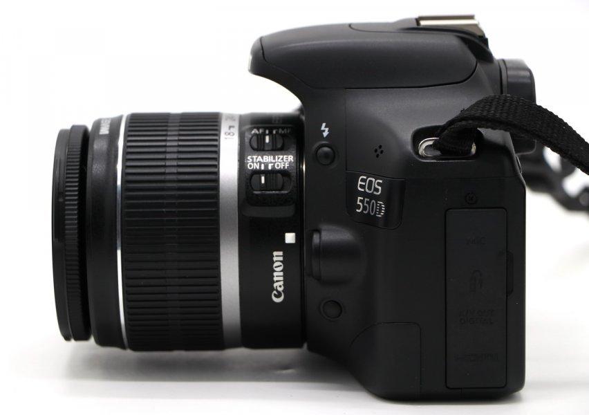 Canon EOS 550D kit в упаковке