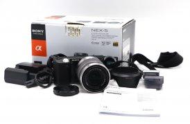 Sony Nex-5 kit в упаковке