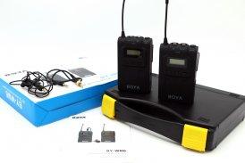 Беспроводная микрофонная УВЧ-система Boya BY-WM6