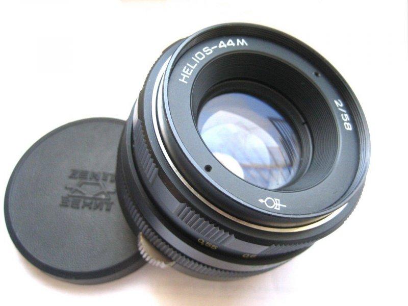 Гелиос-44М 2/58 для Fujifilm