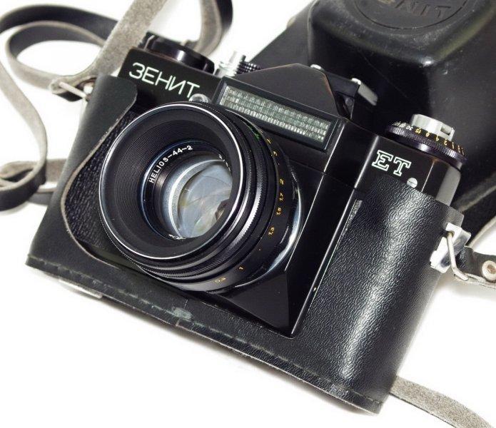 Зенит ЕТ + Гелиос 44-2 2/58  (СССР, 1986 г.)