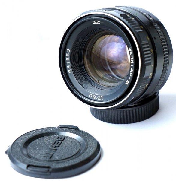 Зенитар М 1.7/50 для Nikon (КМЗ, 1985 г.)