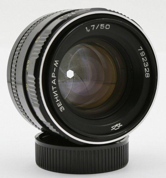 Зенитар-М 1.7/50 (СССР, 1985) для Canon EOS