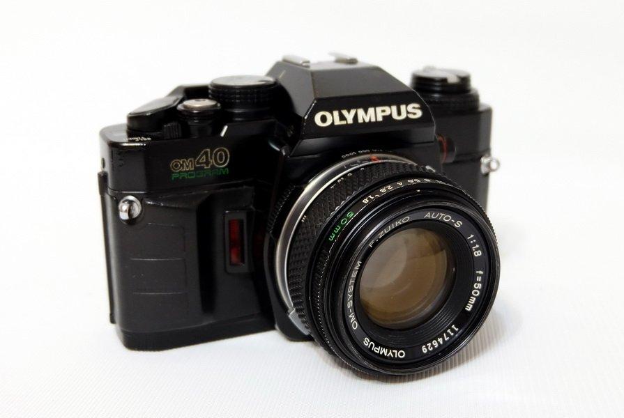 Olympus OM40 Program + Olympus OM-System F.Zuiko Auto-S 1:1,8/50mm