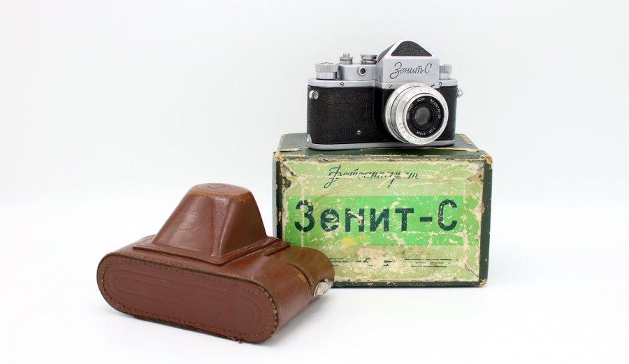 Зенит С комплект, в коробке (СССР, 1956)