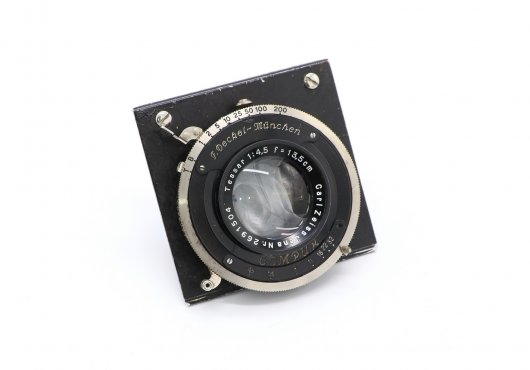 Tessar 4,5/13,5cm Carl Zeiss Jena (Germany, 1930)