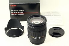 Sigma AF 17-70mm f/2.8-4 DC MACRO OS HSM Canon EF-S