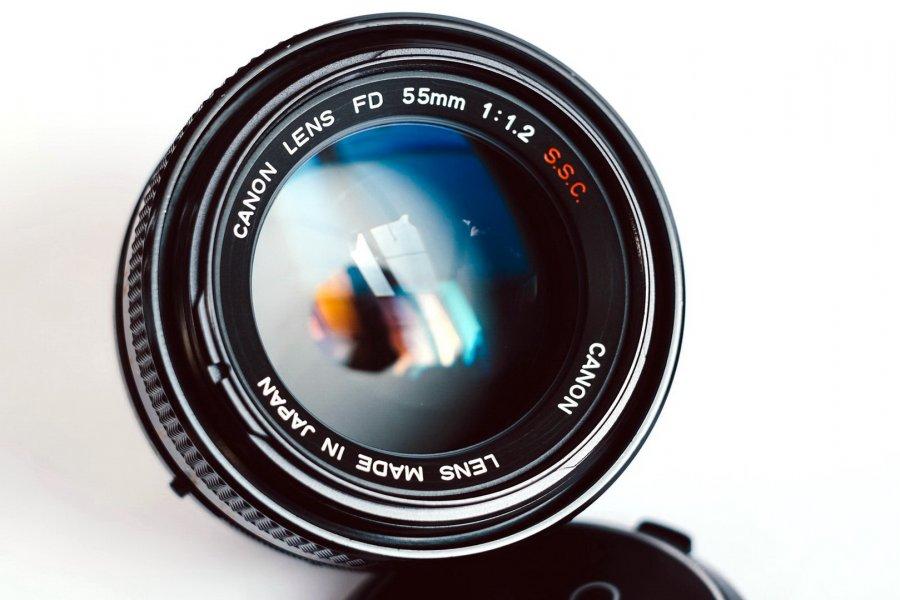 Canon FD 1,2/55 S.S.C. (Japan, 1977)