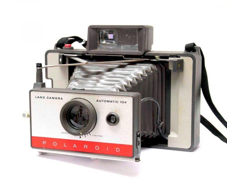 Polaroid 104 Automatic Land Camera (USA, 1966)