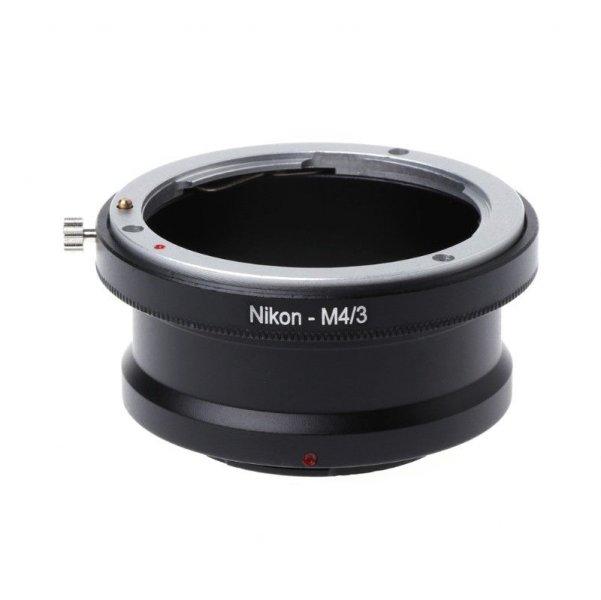 Переходник Nikon F - Micro 4/3 (MFT)