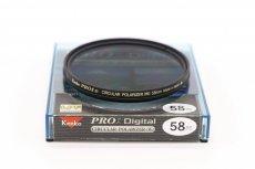 Светофильтр Kenko Pro1 Digital Wideband circular PL (W) 58mm
