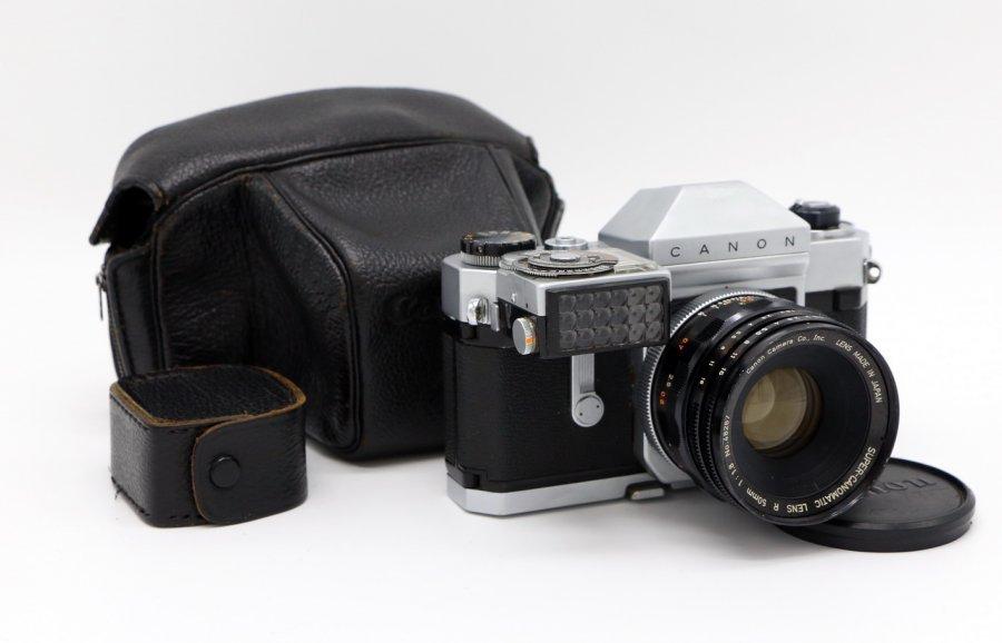 Canon Canonflex RP kit (Japan, 1959)
