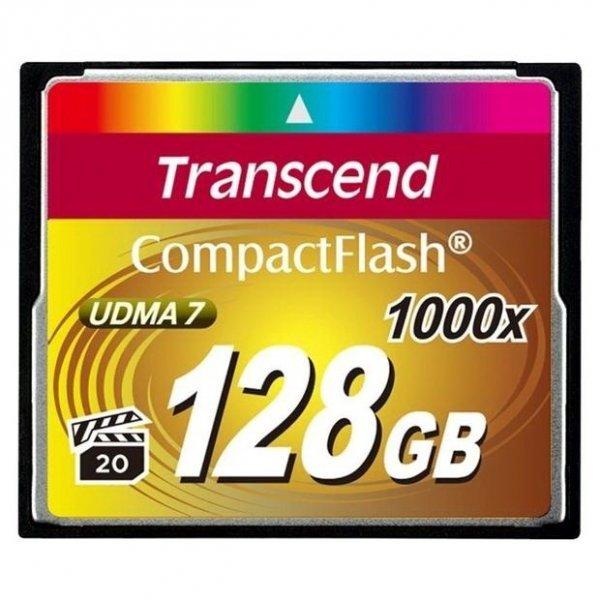 Флеш карта Compact Flash Transcend 128GB 1000x