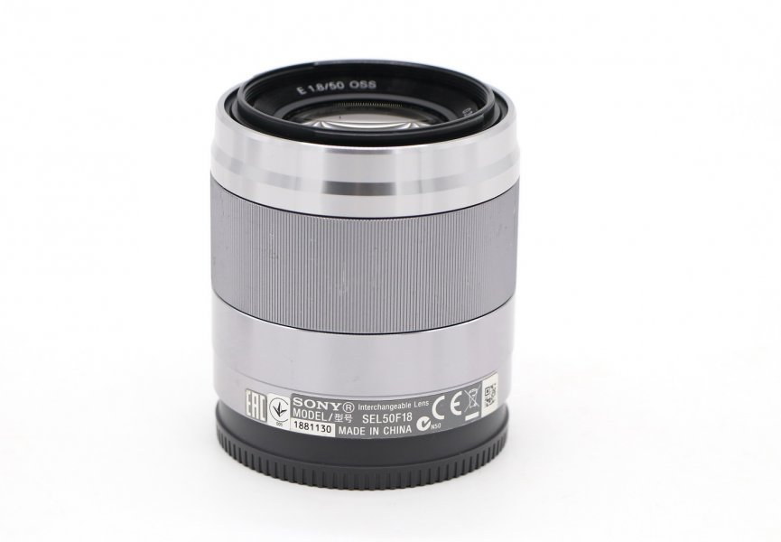Sony 50mm f/1.8 OSS (SEL-50F18) в упаковке