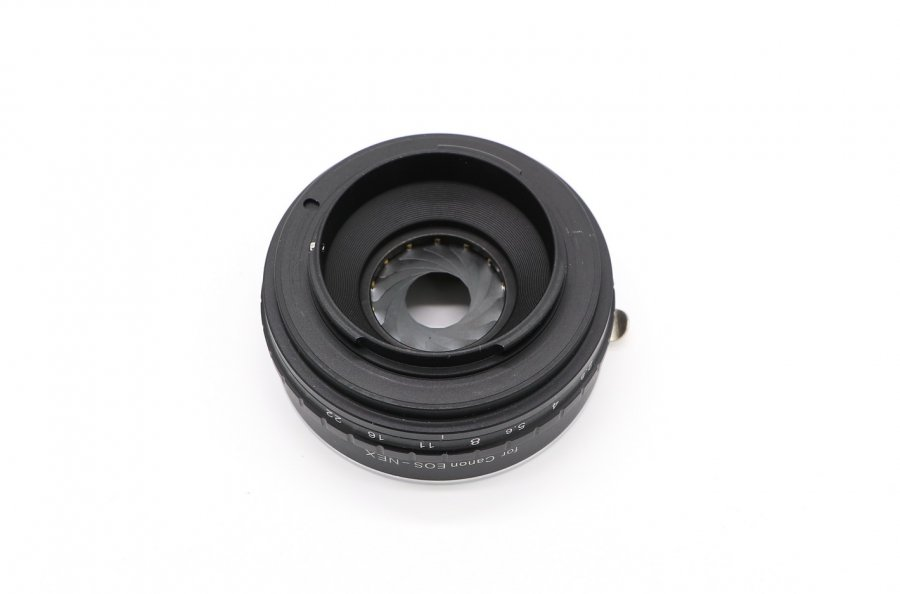 Adapter Canon EOS / EF - Sony Nex (Sony E) с диафрагмой