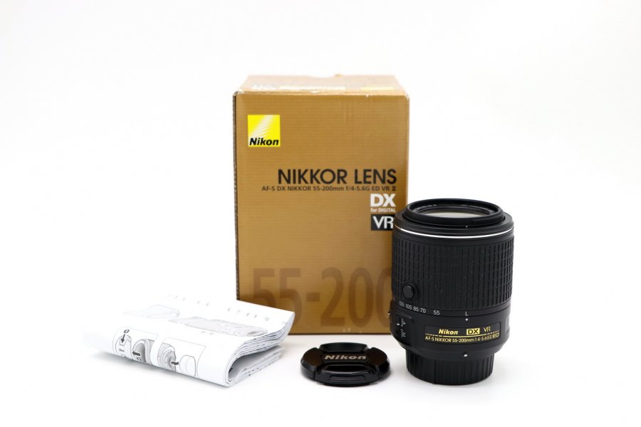 Nikon 55-200mm f/4-5.6G II AF-S DX VR ED Nikkor