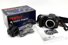 Pentax K100D Super body в упаковке