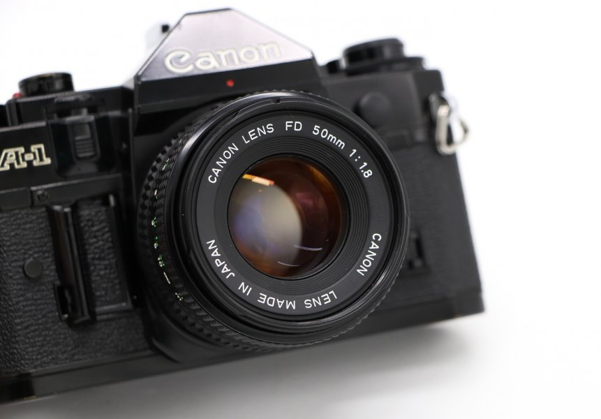 Canon A-1 kit (Japan, 1981)