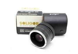 Soligor auto tele converter 3x to fit Canon