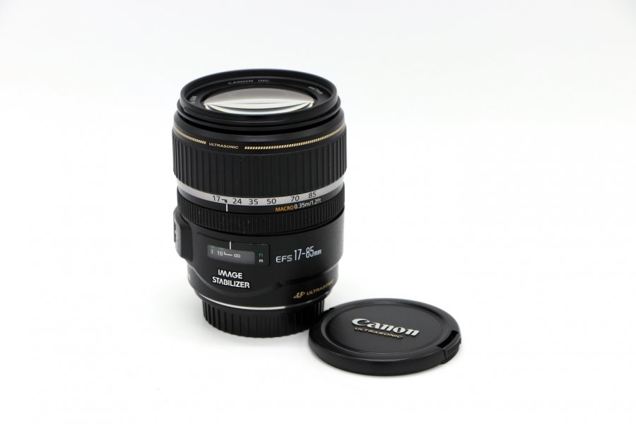 Canon EF-S 17-85mm f/4-5.6 IS USM неисправный