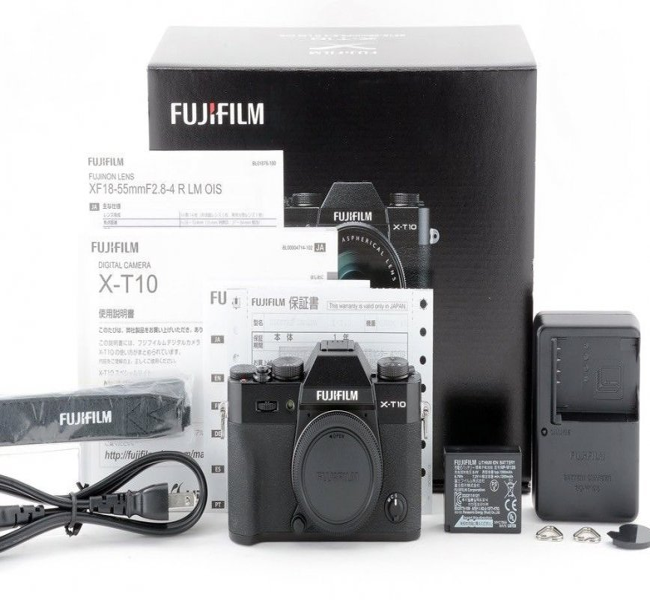 Fujifilm X-T10 body