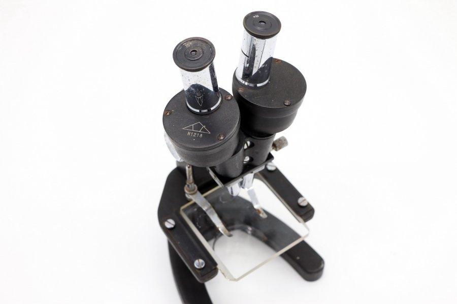 Микроскоп бинокулярный СССР 1947