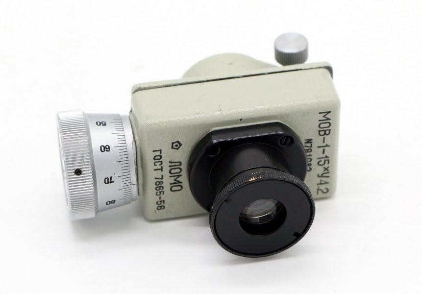 Микрометр МОВ-1-15*4.2 ЛОМО СССР