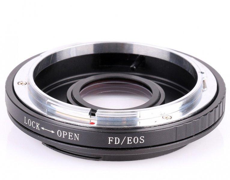 Adapter Canon FD - Canon EOS / EF