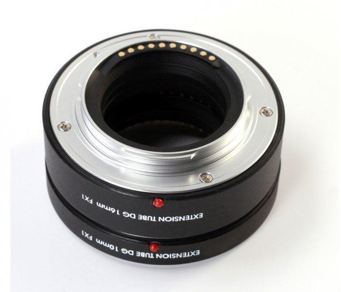 Макрокольца автофокусные для Fujifilm X