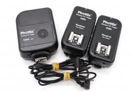 Комплект передатчик и 2 приемника Phottix Odin TTL для Nikon
