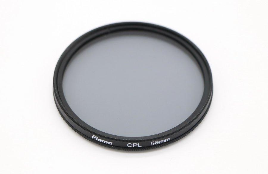 Светофильтр Flama CPL 58mm