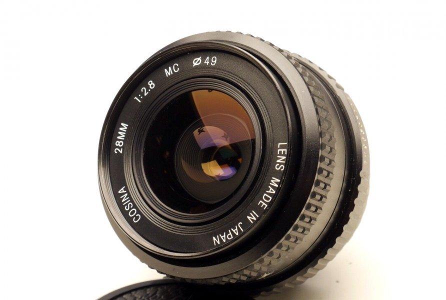 Cosina 28mm f/2.8 MC Japan