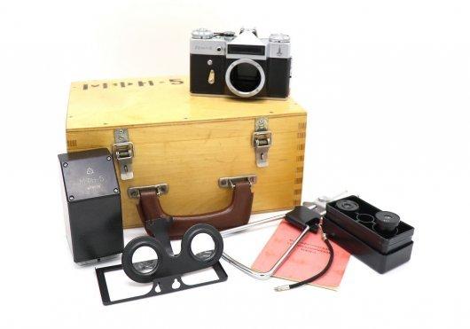 Микрофотонасадка стереоскопическая МФН-5 комплект