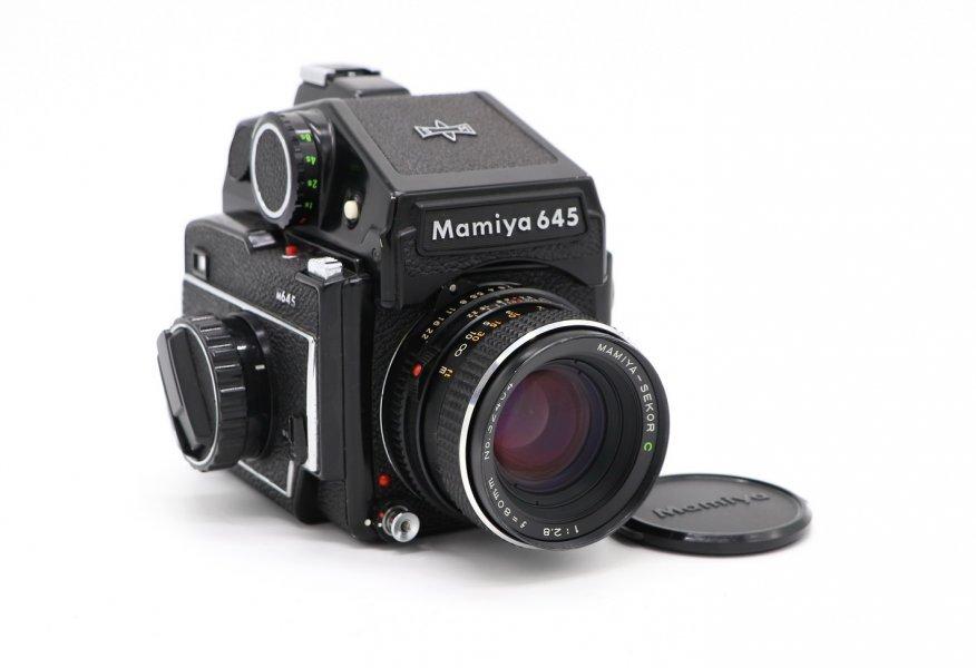 Mamiya 645 kit (Japan, 1977)