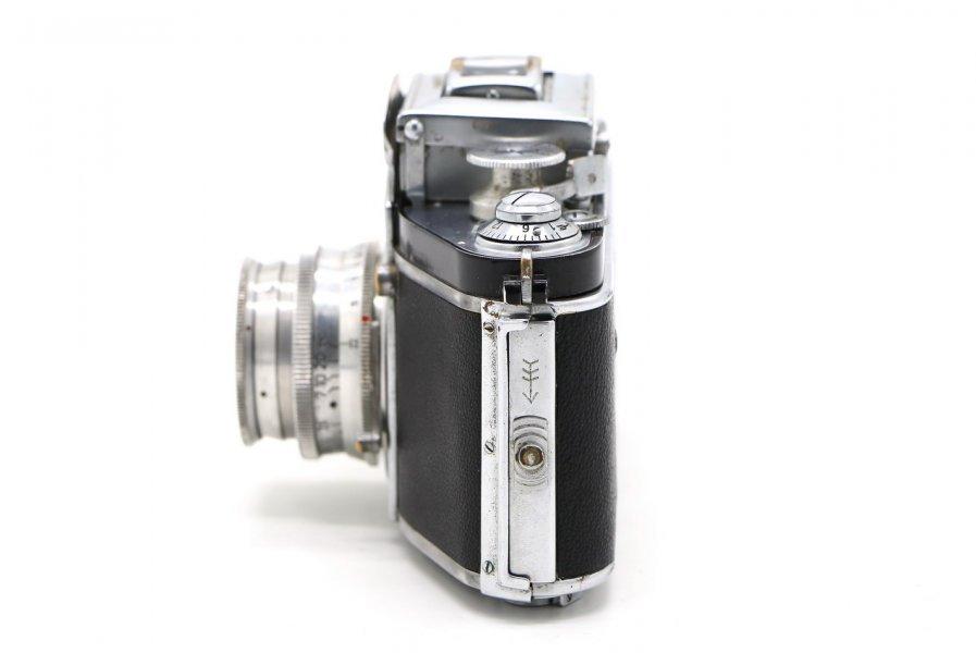Exacta Jhagee Dresden + Trioplan 2.9/50mm