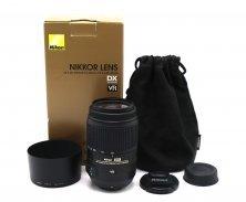 Nikon 55-300mm f/4.5-5.6G AF-S DX VR ED Zoom-Nikkor в упаковке