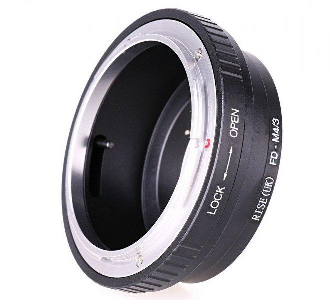 Adapter Canon FD - Micro 4/3 / MFT / M4/3