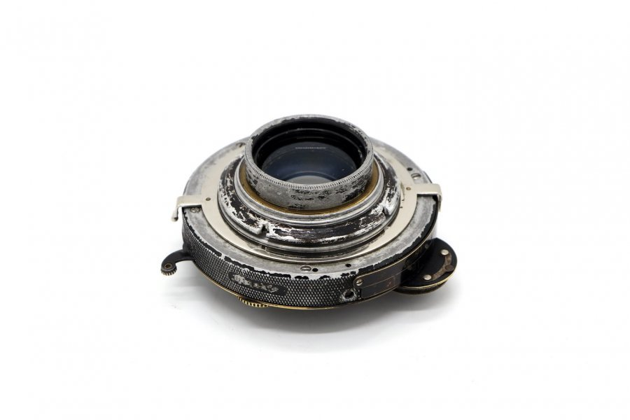 Doppel Anastigmat ESPI №2 180mm/6.8 Otto Spitzer Berlin Compur