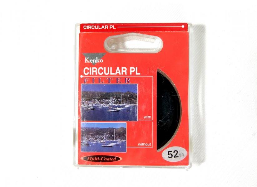 Светофильтр Kenko Filter Circular PL 52mm Japan