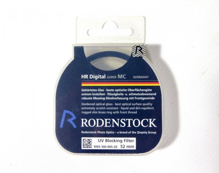 Светофильтр Rodenstock UV Blocking Filter 52mm Germany