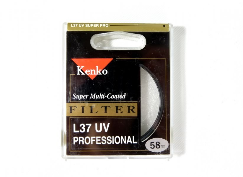 Светофильтр Kenko Filter L37 UV Professional 58mm