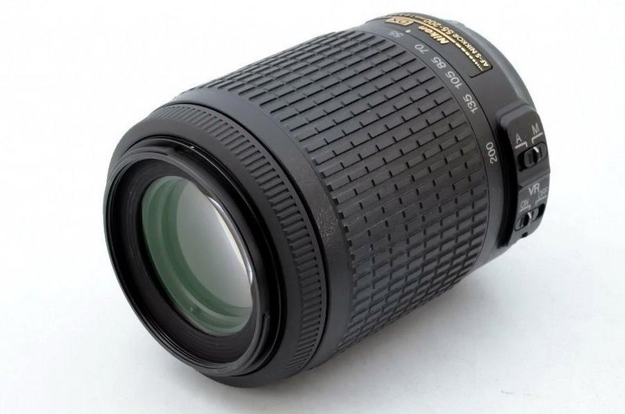 Nikon 55-200mm f/4-5.6G AF-S DX ED Nikkor