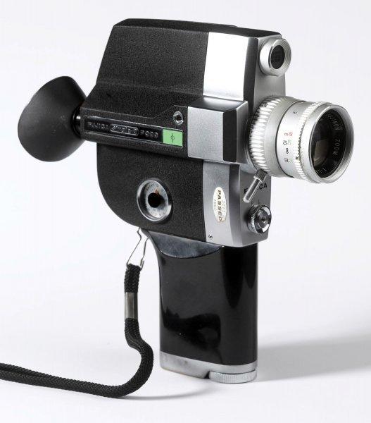 Кинокамера Fujica Single-8 P300 (Japan, 1981)