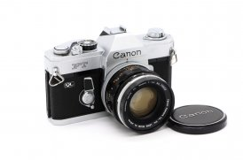 Canon FT QL + Canon FL 50mm/1.4 (Japan,1966)