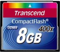 Compact Flash Transcend 8GB 400x