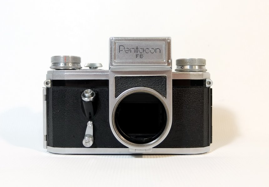 Pentacon FB body (Germany, 1957)