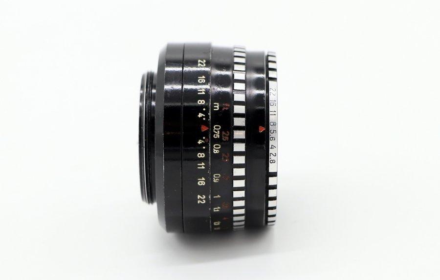 Domiplan 2.8/50 Meyer-Optik Gorlitz (Germany, 1963)