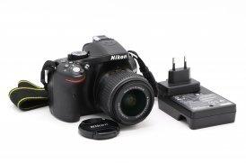 Nikon D5200 kit (пробег 1К кадров)