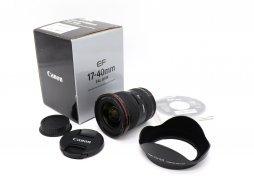 Canon EF 17-40mm f/4L USM в упаковке