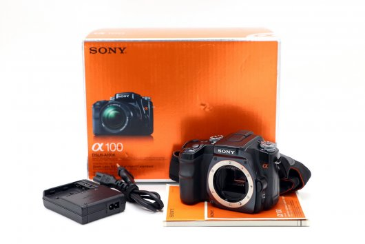 Sony A100 body box